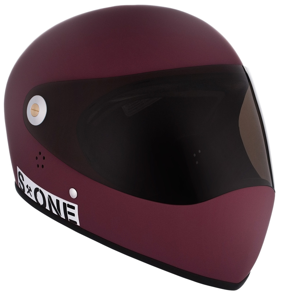 Maroon Matte W/ Tint Visor | S1 Lifer Full Face Helmet Specs: • Specially formulated EPS Fusion Foam • Certified Multi-Impact (ASTM) • Certified High Impact (CPSC) • 5x More Protective Than Regular Skate Helmets • Deep Fit Design