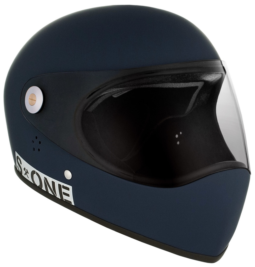 Navy Matte W/ Clear Visor   S1 Lifer Full Face Helmet Specs: • Specially formulated EPS Fusion Foam • Certified Multi-Impact (ASTM) • Certified High Impact (CPSC) • 5x More Protective Than Regular Skate Helmets • Deep Fit Design