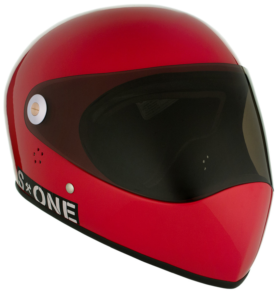 Red Gloss W/ Tint Visor | S1 Lifer Full Face Helmet Specs: • Specially formulated EPS Fusion Foam • Certified Multi-Impact (ASTM) • Certified High Impact (CPSC) • 5x More Protective Than Regular Skate Helmets • Deep Fit Design