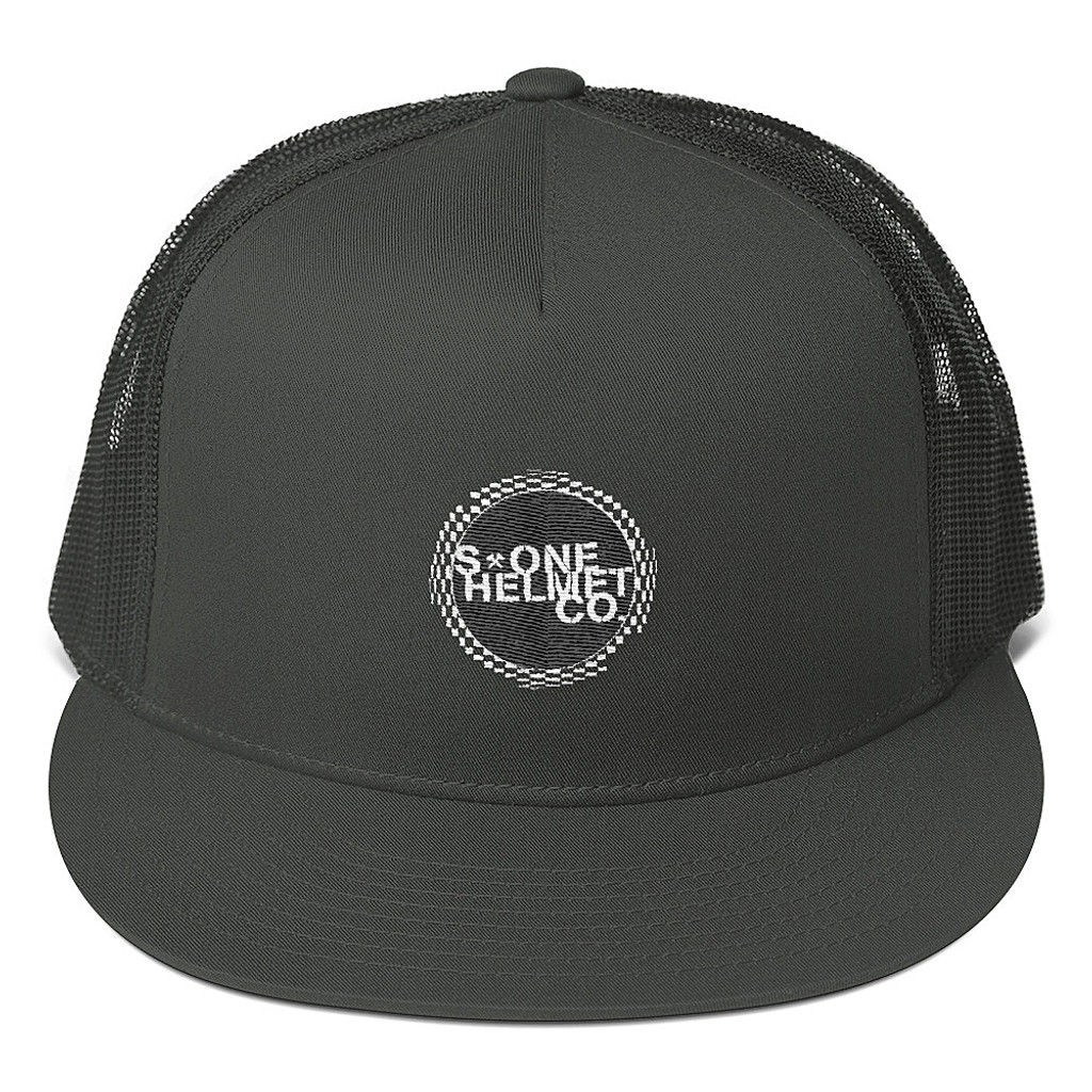 S1 Helmet Co - Circle Checker - Mesh Back Snapback Hat