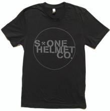 S1 Helmet Co. Seal Logo T-Shirt - Black