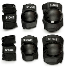 S1 Starter Pad Set, 2 wrist guards, 2 elbow and 2 knee pad