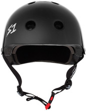 S1 Mini Lifer Helmet Specs: • Specially formulated EPS Fusion Foam • Certified Multi-Impact (ASTM) • Certified High Impact (CPSC) • 5x More Protective Than Regular Skate Helmets • Deep Fit Design