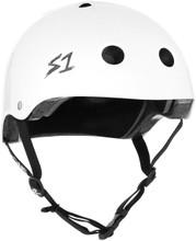 S1 Lifer Helmet - White Gloss