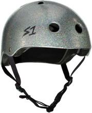 Silver Glitter S1 Lifer Multi Impact Helmet