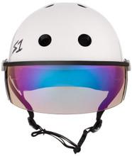 S1 Lifer Visor Helmet - Gen 2 - White Gloss
