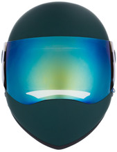 Dark Green Matte W/ Iridium Visor | S1 Lifer Full Face Helmet Specs: • Specially formulated EPS Fusion Foam • Certified Multi-Impact (ASTM) • Certified High Impact (CPSC) • 5x More Protective Than Regular Skate Helmets • Deep Fit Design