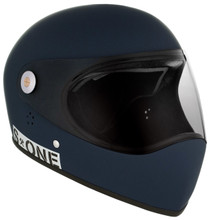 Navy Matte W/ Clear Visor | S1 Lifer Full Face Helmet Specs: • Specially formulated EPS Fusion Foam • Certified Multi-Impact (ASTM) • Certified High Impact (CPSC) • 5x More Protective Than Regular Skate Helmets • Deep Fit Design
