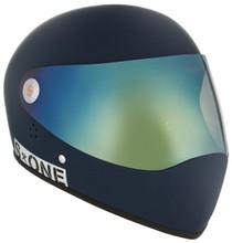 Navy Matte W/ Iridium Visor | S1 Lifer Full Face Helmet Specs: • Specially formulated EPS Fusion Foam • Certified Multi-Impact (ASTM) • Certified High Impact (CPSC) • 5x More Protective Than Regular Skate Helmets • Deep Fit Design