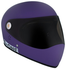 Purple Matte W/ Tint Visor | S1 Lifer Full Face Helmet Specs: • Specially formulated EPS Fusion Foam • Certified Multi-Impact (ASTM) • Certified High Impact (CPSC) • 5x More Protective Than Regular Skate Helmets • Deep Fit Design