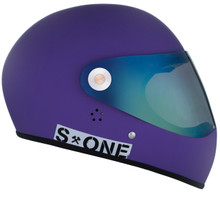 Purple Matte W/ Mirror Visor | S1 Lifer Full Face Helmet Specs: • Specially formulated EPS Fusion Foam • Certified Multi-Impact (ASTM) • Certified High Impact (CPSC) • 5x More Protective Than Regular Skate Helmets • Deep Fit Design