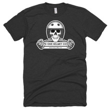 S1 Helmet Co - Retro Skeleton - 50/50 T-Shirt