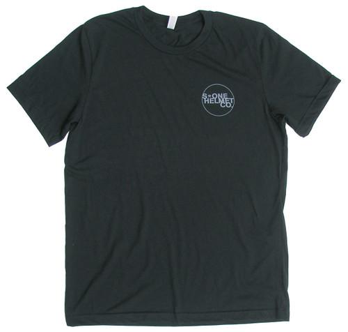 S1 Helmet Co. - Small Seal Logo T-Shirt - Black