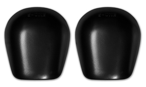 Re- Caps in Black Matte designed for the S1 Pro Knee Pad.