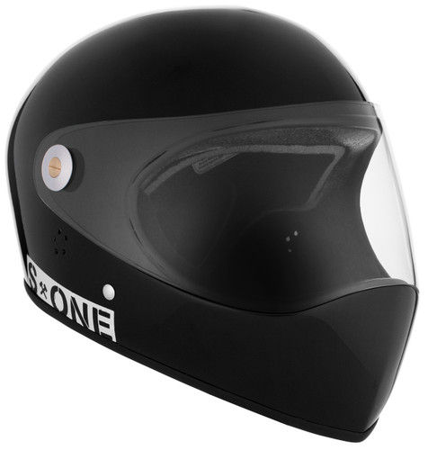 Black Gloss W/ Clear Visor | S1 Lifer Full Face Helmet Specs: • Specially formulated EPS Fusion Foam • Certified Multi-Impact (ASTM) • Certified High Impact (CPSC) • 5x More Protective Than Regular Skate Helmets • Deep Fit Design