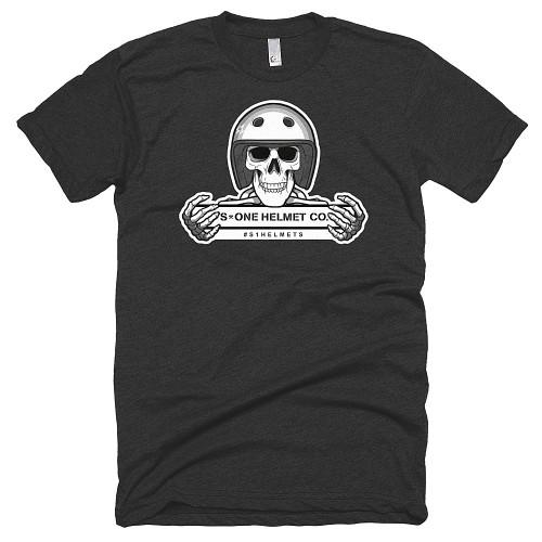 S1 Helmet Co - Retro Skeleton - 50/50 T-Shirt