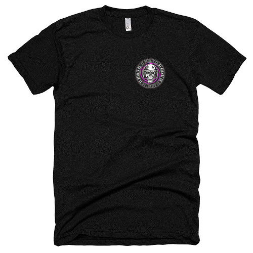 S1 Helmet Co - Retro Badge - 50/25/25 T-Shirt (front print only)