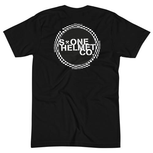 S1 Helmet Co - Circle Checkers - 50/50 T-Shirt