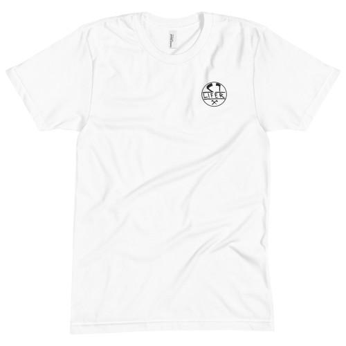 S1 HELMET CO - S1 LIFER - 50/50 T-SHIRT – WHITE