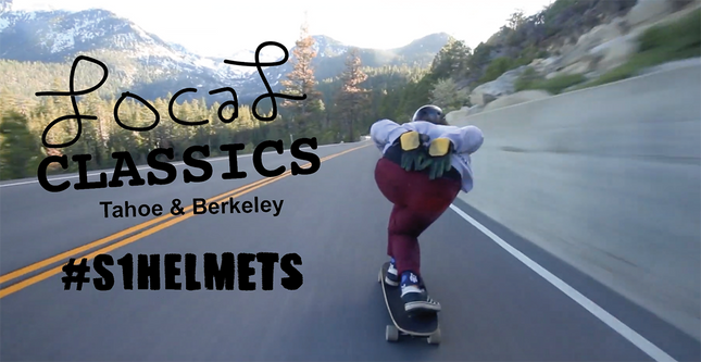 Video: Downhill Skating inTahoe and Berkeley