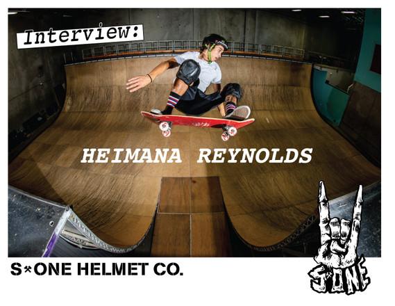 Interview: Heimana Reynolds | S1 Lifer Skateboard Helmet
