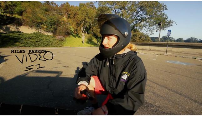 Miles Parker / Downhill Skateboarding in Oakland, CA