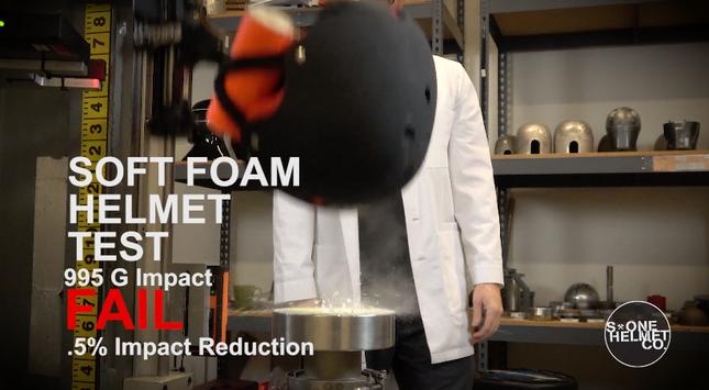 Testing Video: S1 Lifer Helmet Vs Soft Foam Helmet