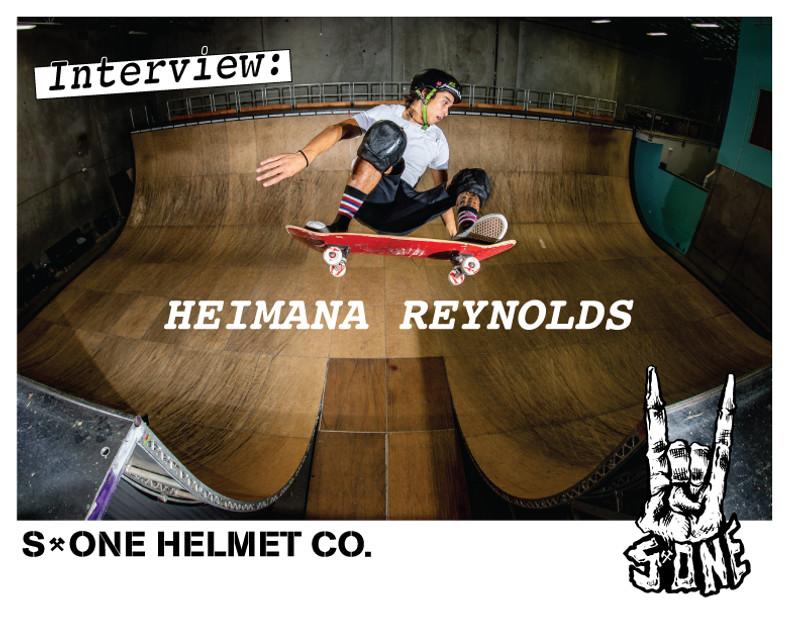 Interview: Heimana Reynolds