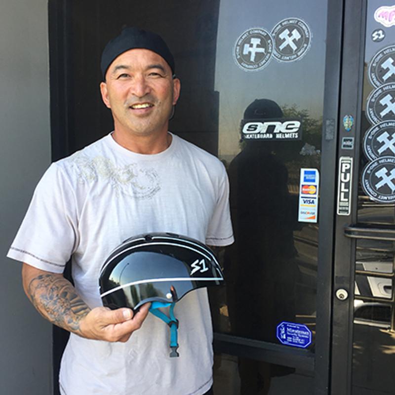 S1 Helmets x Lonny Hiramoto Collab
