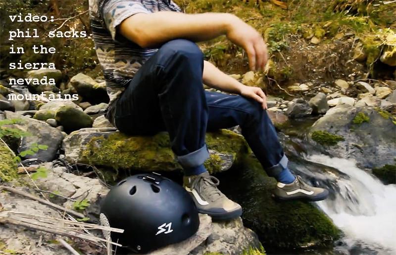 Downhill Skateboarding in the Sierra Nevadas w/ Phil Sacks