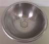 "13"" STAINLESS STEEL ROUND SINK (10-1023)"