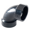 """ABS FITTING 2"""" - 1/4 BEND (11-1081)"""
