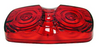 PETERSON #138 REPLACEMENT LENS - RED (18-3039)