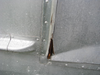 Spartan Door Hinge Cover (CHW139) OLD BROKEN HINGE COVER SHOWN