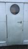1947-1953 Spartan Door Hinge - (CHW152) INSTALLED (DOOR NOT INCLUDED)