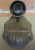 Steel Wall Sconce (LT400) TOP VIEW
