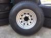 "15"" X 6"" Wheel 6 Hole on 5-1/2"" Bolt Circle-Silver Mod (CCH034)"