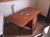 Spartan Drop Leaf Wood Table