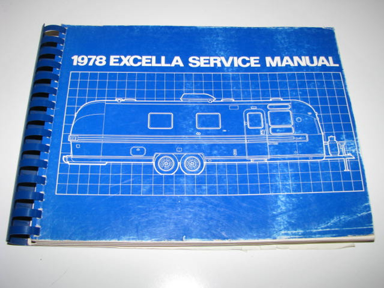 1978 Airstream Excella Service Manual (BL014) FRONT COVER