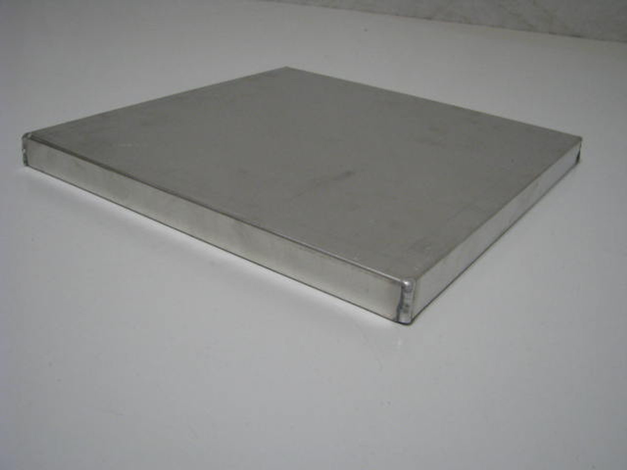 "Aluminum Vent Cover - 9.75"" x 9.75"" (CBP008)  ANGLED VIEW"