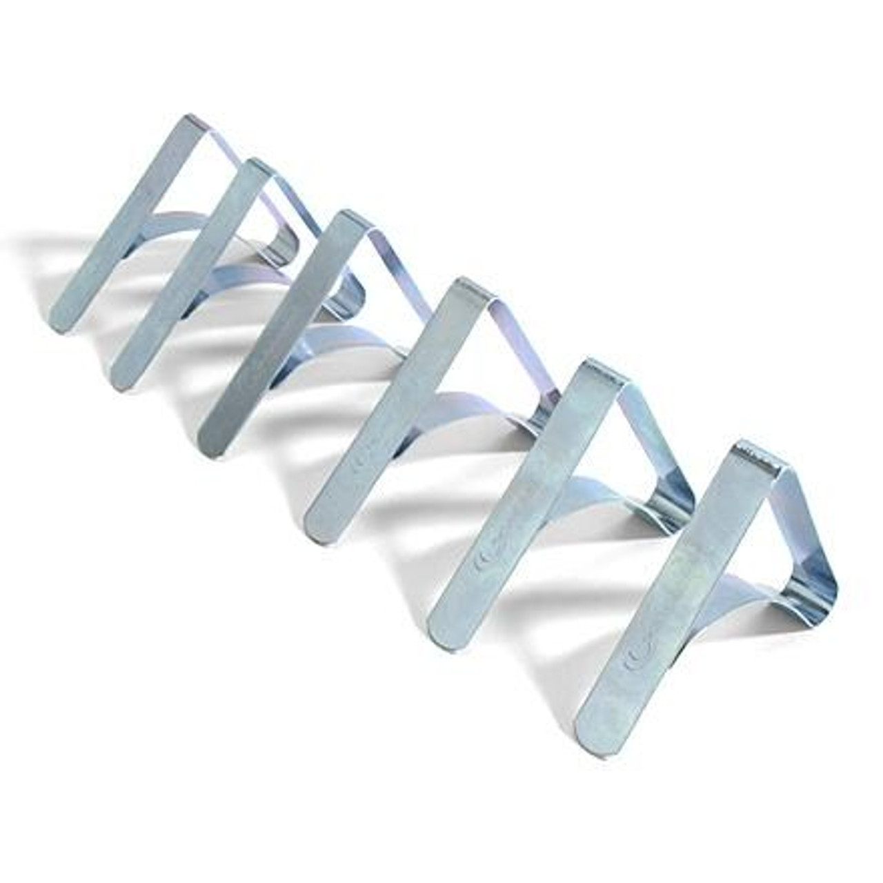 6pk TABLECLOTH CLAMPS - (03-1013) SHOWN OPENED