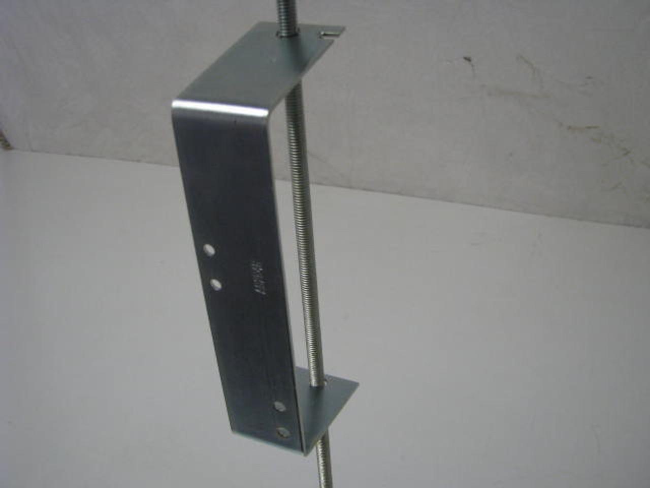 "3/8"" REGULATOR BRACKET (06-1008) SHOWN ASSEMBLED ON ROD (NOT INCLUDED)"