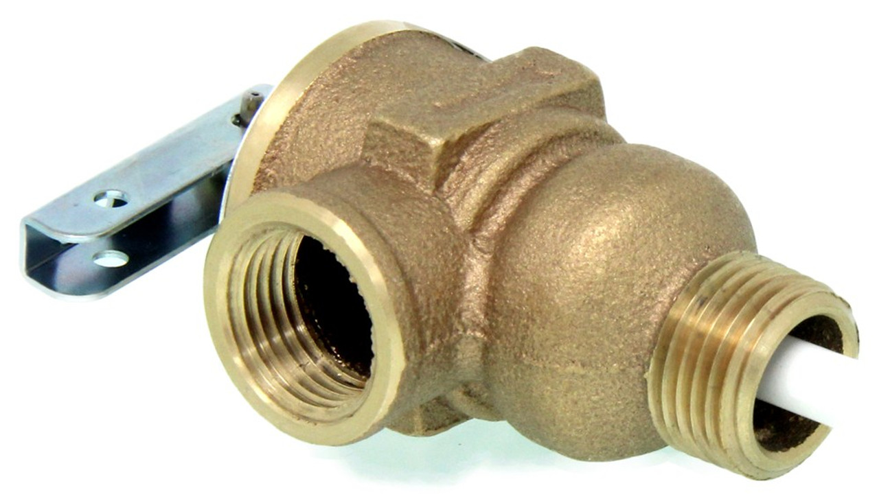 "1/2"" PRESSURE RELIEF VALVE (09-1009) Product Shown"
