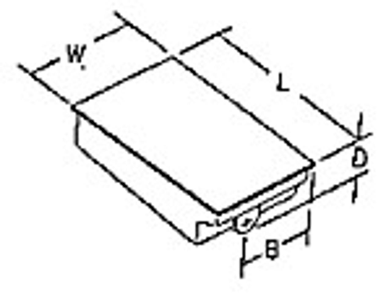 ABS HOLDING TANK END DRAIN - 29 GALLON (11-1068)