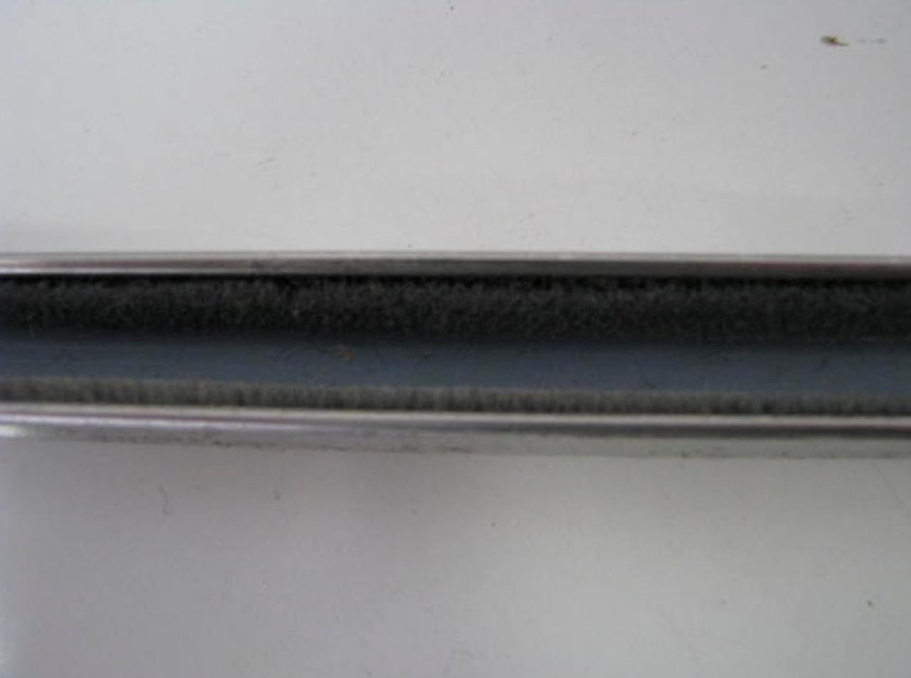 Spartan Slider Window Channel, Stainless Steel - Top (CHW009)