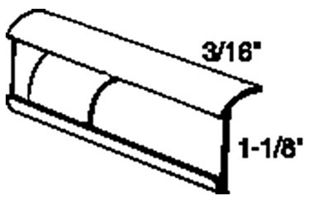 SIDE INSERT ALUMINUM - 16' (20-1094)