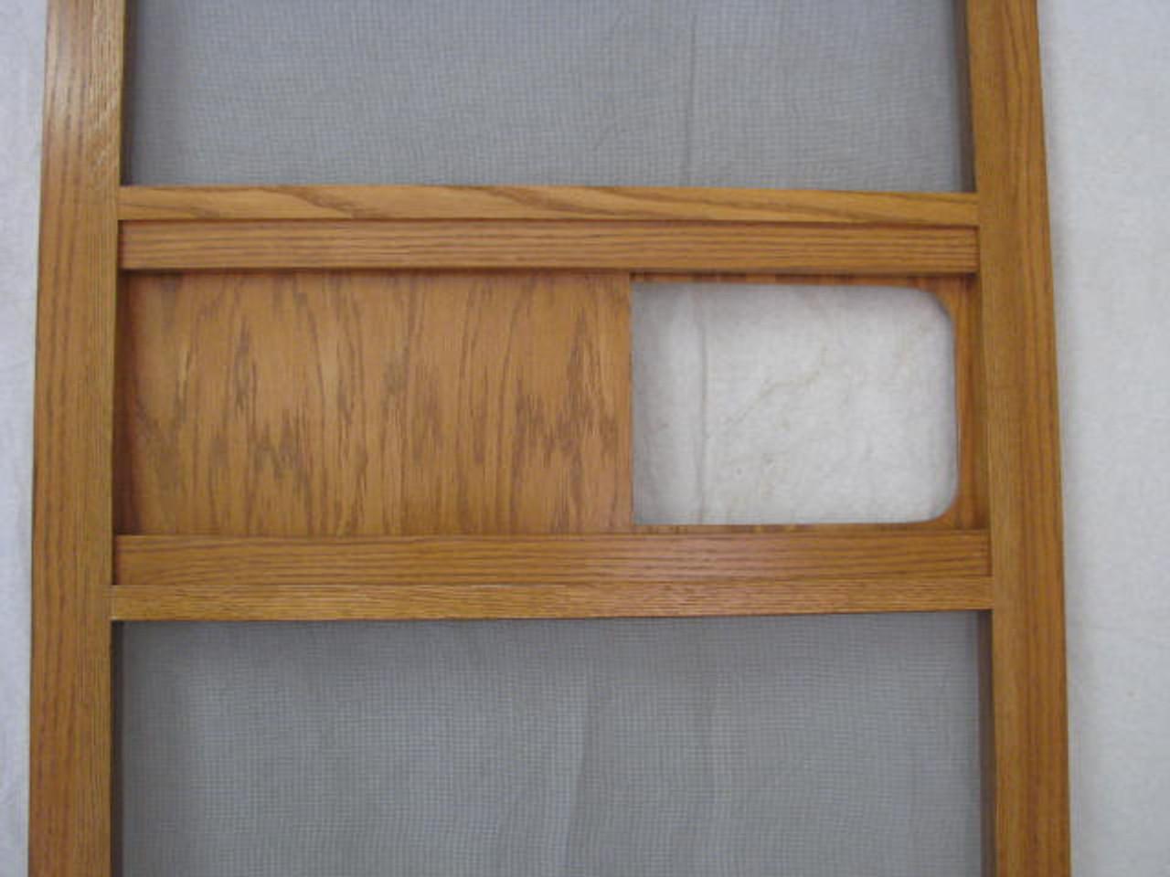 Oak Screen Door for Spartans (CWI001)