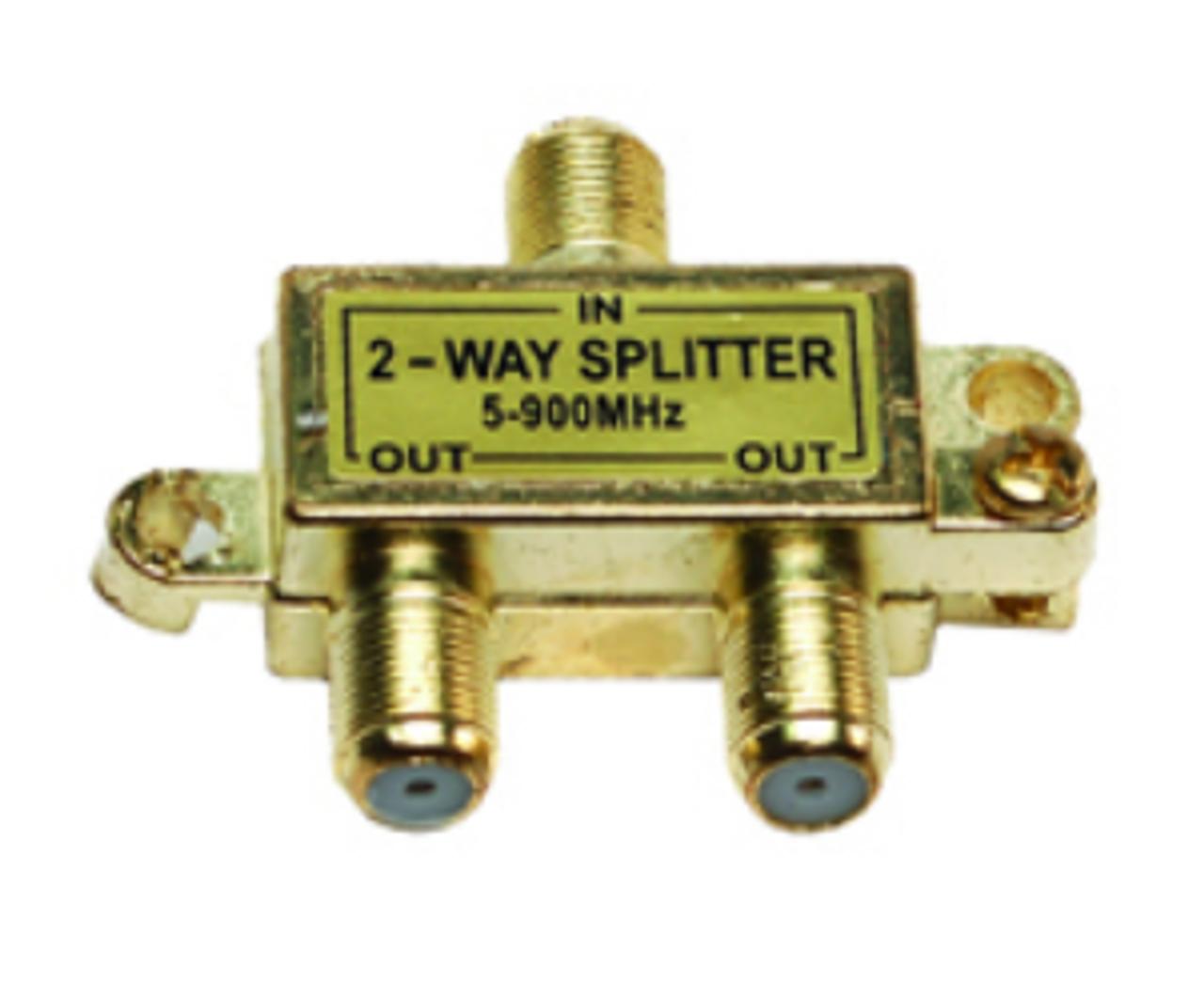2-WAY COAX SPLITTER (24-1001)