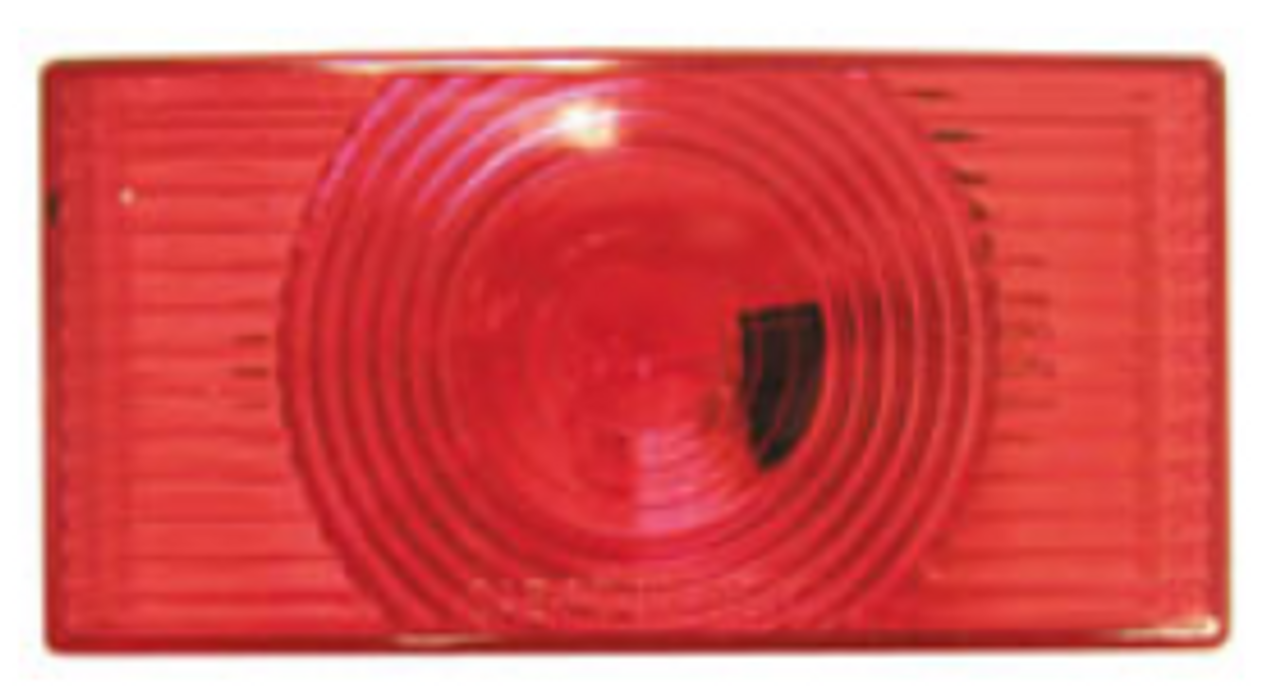 PETERSON SIDE MARKER LIGHT REPLACEMENT LENS - RED (18-3037)