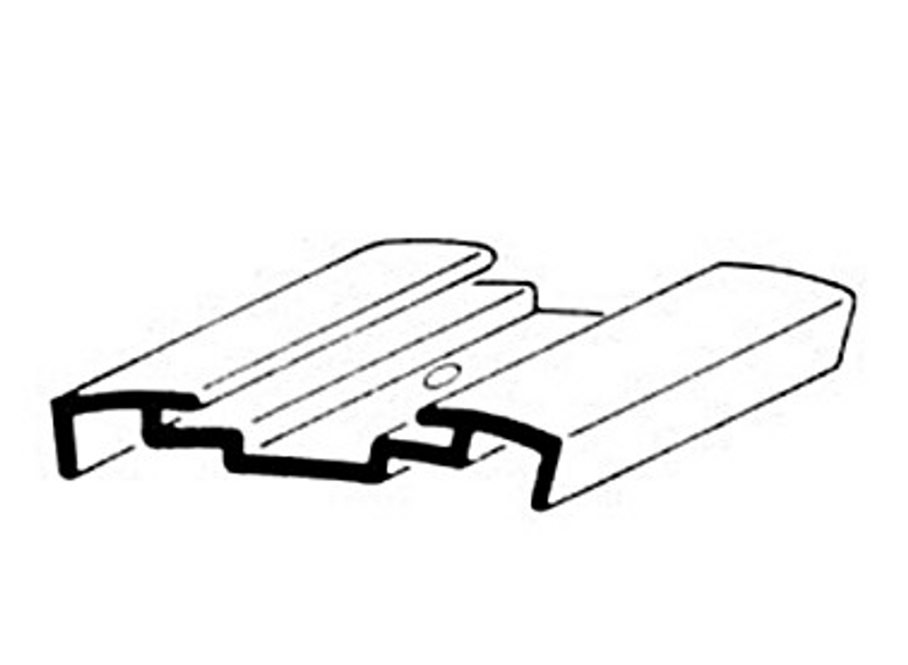 INSERT MOLDING ALUMINUM TRIM - 14' (20-3000)